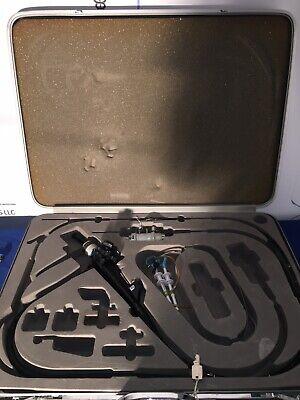 Olympus Gf Um20 Ultrasound Gastroscope Endoscopy Endoscope W Carrying Case