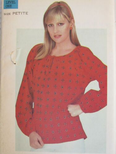Lovely VTG 80s BUTTERICK 3695 Misses Loose-fitting Top PATTERN Pt/30.5B UC