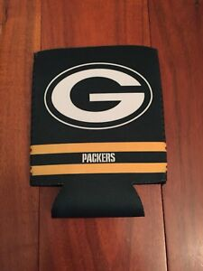 Green Bay Packers Budweiser Beer COOLIE COOZIE Koozie.