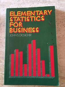 Statistics Textbooks | Textbooks | Gumtree Australia Ku-ring