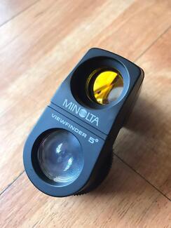 MINOLTA VIEWFINDER 5° - Excellent condition in case
