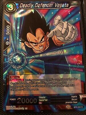 Raging Energy Blast Gotenks BT4-034 x4 4x Cards Dragon Ball Super CCG Mint