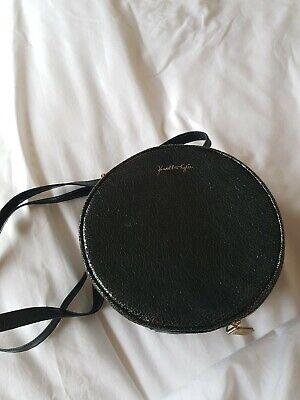 Kendall & Kylie Green Faux Leather Crossbody / Handbag / Vanity Case