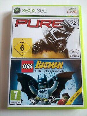 Pure + Lego Batman the Videogame Bundle Xbox 360