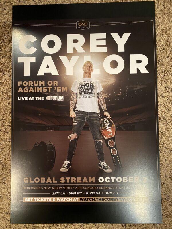 Corey Taylor Solo Show Poster Slipknot