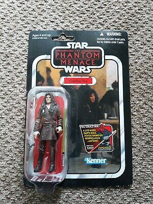 """Star Wars Vintage Collection Quinlan Vos 3.75"""" VC85 New On Card"""