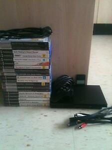PS2 Slim console and 19x games bundle! great condition Thirroul Wollongong Area Preview