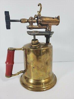 Vintage Turner Brass Works Blow Torch Model 206A Brass
