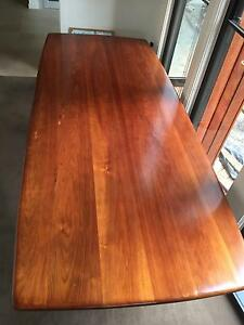 Blackwood 10 seater dining table Hawthorn East Boroondara Area Preview