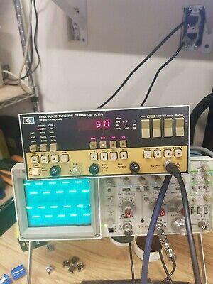 Hp Agilent Keysight 8116a Pulse Function Generator - Fair Condition