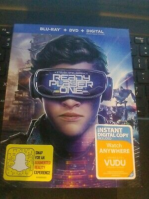 Ready Player One ( Blu Ray + DVD + Digital )