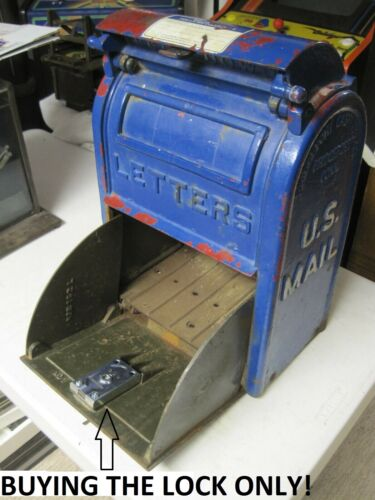 NEW Replacement Lock ONLY!!  Cast Iron US Mailbox Letter Box Danville,Bridgeport