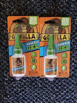 2 Gorilla 20 G Super Glue Gel