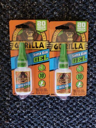 2 20 g super glue gel
