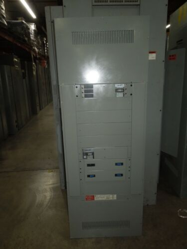 Ge Spectra Series 600a 3ph 4w 208y/120v Mlo Panel W/distribution Breakers Nema 1
