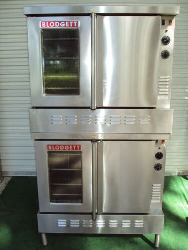 """BLODGETT SHIG /AA GAS DOUBLE BAKERY COMMERCIAL OVEN BAKERY PIZZA """" NICE ! ! ! """""""