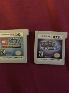 3DS Pokémon moon and LEGO