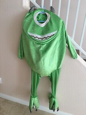 RARE Monsters Inc Mike Wazowski Halloween Costume Cosplay Disney Store