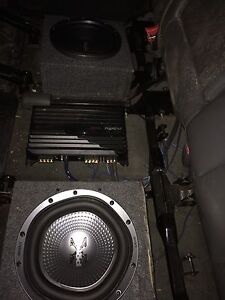 Sony subs and amp