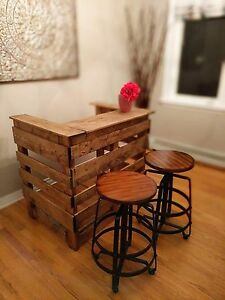 Rustic Mini Bar