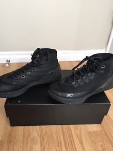Curry 3 All Black size 9.5
