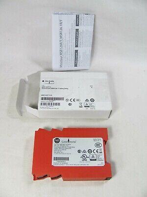 Allen Bradley Guardmaster Safety Relay 440r-n23114 Msr126.1t New In Box Nib