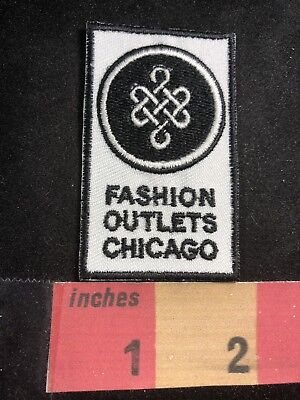 Illinois (? Shopping Mall ? ) FASHION OUTLETS OF CHICAGO Advertising Patch 80N8