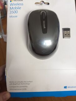 Mouse wireless mobile 3500 - new