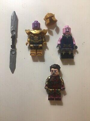 Lego Custom Printed Avengers Endgame Iron Man, Thanos Lab9minifigs!