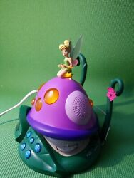 Disney Alarm Clock Radio F300ACRH Tinker Bell & The Lost Treasure Night Light
