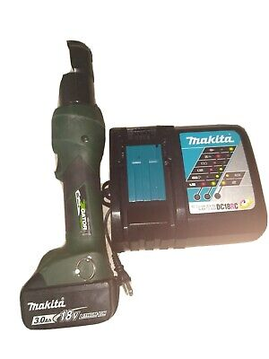 Greenlee Gator Ets12x - 13-12 Cordless 18v Bolt Cable Cutter Battery Charg
