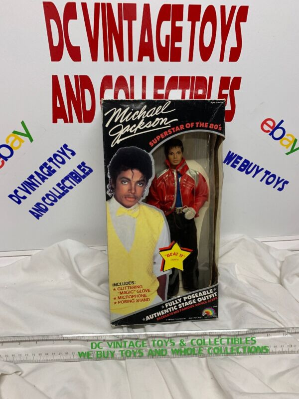 1984 LJN Michael Jackson Beat It  Outfit Superstar Of The 80