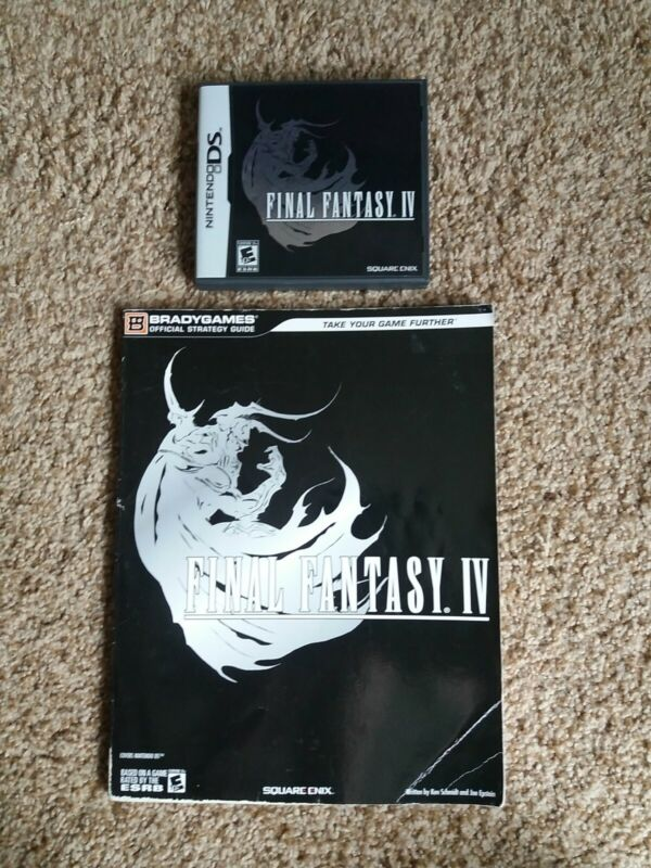 Final Fantasy IV (Nintendo DS, 2008) CIB Tested + Strategy guide