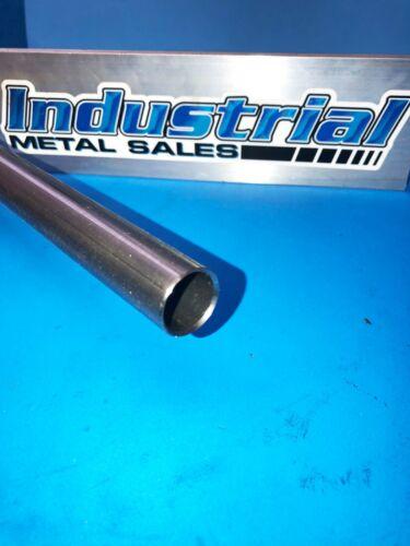 "7/8"" OD x 12""-Long HREW Steel Round Tube.065""Wall->.875"" OD x .065""Wall"