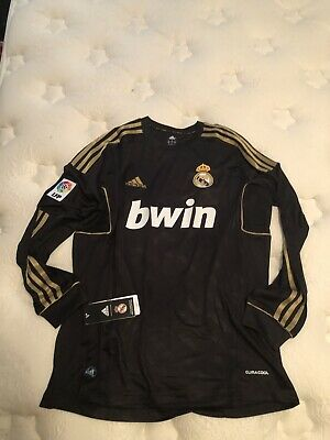 Cristiano Ronaldo 2011/2012 Real Madrid CR7 Soccer Football Long Sleeve Jersey
