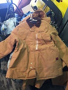 Tough duck coveralls, jacket and pants