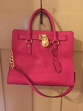 Michael Kors Hamilton Tote Bag in Raspberry / Hot Pink Arncliffe Rockdale Area Preview