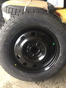 Dodge Journey winter tires and rims