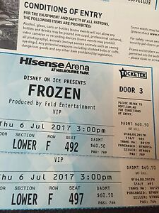 Frozen on ice tickets Bridport Dorset Area Preview