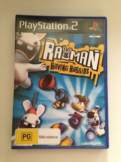 Rayman: Raving Rabbids PS2 Beaconsfield Cardinia Area Preview