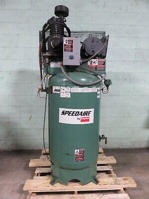 Speedaire Dayton Air Compressor 4xa61 80 Gallon 5hp Electric 230v 1phase