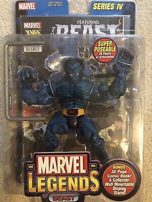 BEAST Marvel Legends Series IV 4 Beast X-Men New Sealed NIP Toy Biz 2003