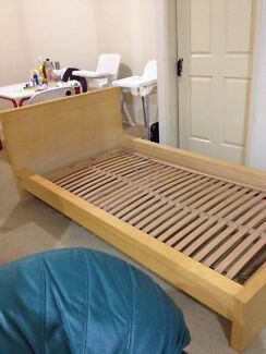King single timber bed Salisbury Brisbane South West Preview