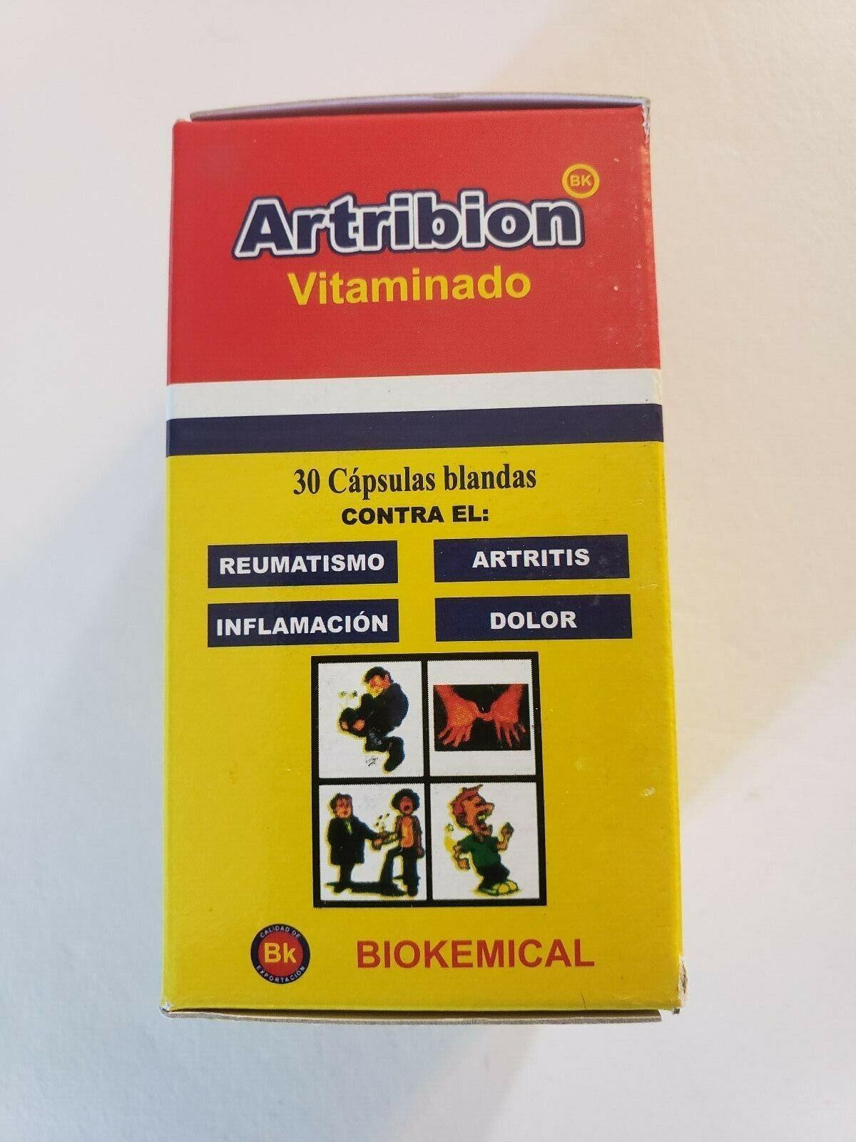 ARTRIBION VITAMINADO 30 CAPSULAS, DOLOR, INFLAMACION / REUMATISMO