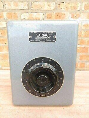 Variac Type W30m Autotransformer 120 Volt 30 Amp