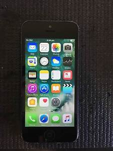 IPHONE 5 16GB BLACK UNLOCKED TO ALL NETWORKS Cannington Canning Area Preview