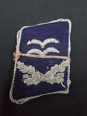 WWII German Luftwaffe Medical 1st Lt Collar Tabs Set of 2
