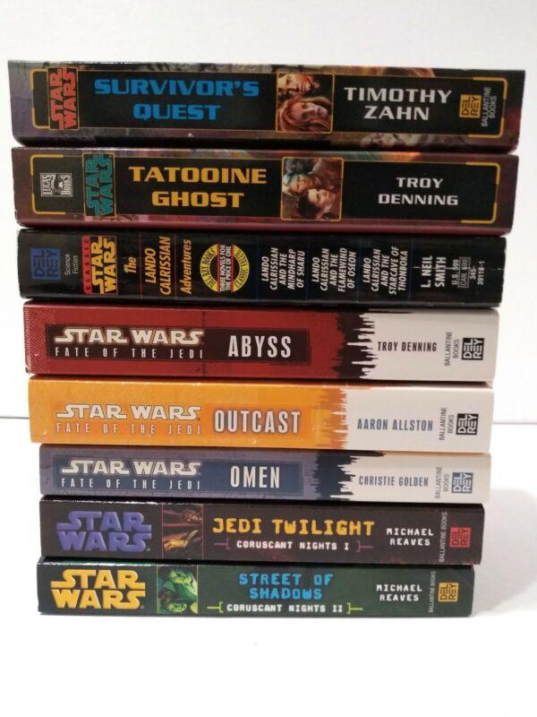 Star Wars PB 8 Book Lot