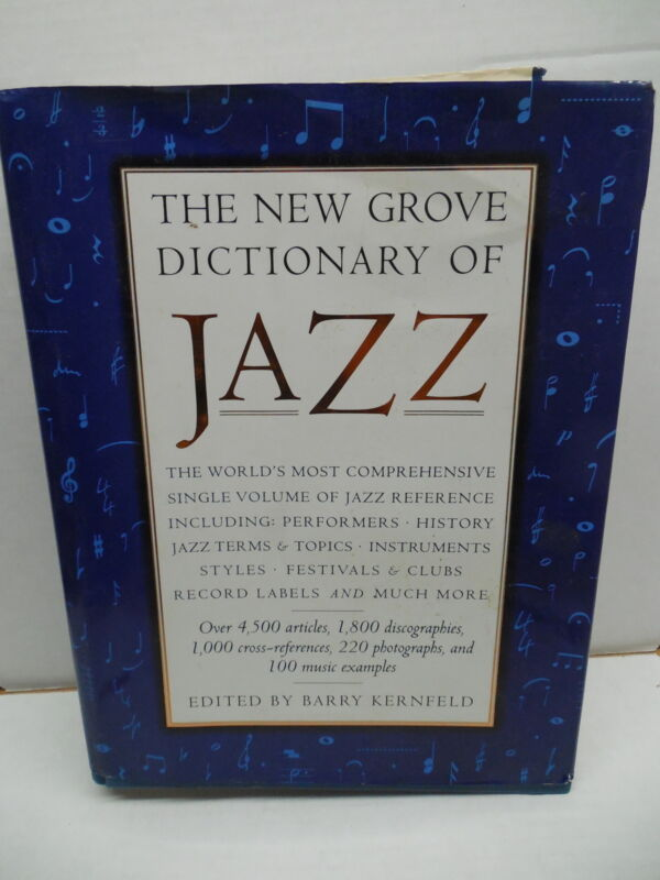 New Grove Dictionary Of Jazz Music Book Barry Kernfeld History Record Labels