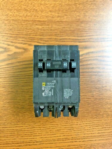 HOMT2020240 Square D Breaker FREE SHIPPING